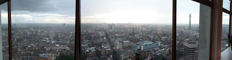 BT Tower from Centre Point
